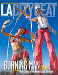 Yay! I'm so excited my burning man visions were featured in LACityBeat!