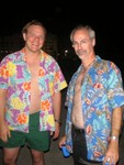 hawaiian shirt contingent! :)